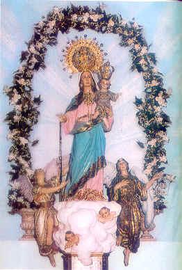 Coronación de la Virgen del Rosario
